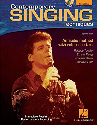 9780634067204: Contemporary Singing Techniques - Men's Edition: An Audio Method with a Reference Text