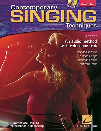 9780634067211: Contemporary Singing Techniques (Women's Edition): An Audio Method with Reference Text