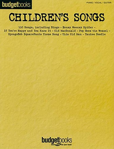 9780634067334: Children's Songs: Budget Books