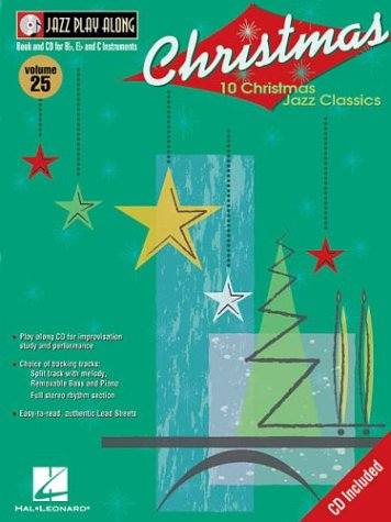 9780634067785: Christmas Jazz BK/CD Volume 25 (Jazz Play Along)