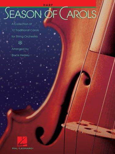 9780634068119: Season of Carols - Harp - PART