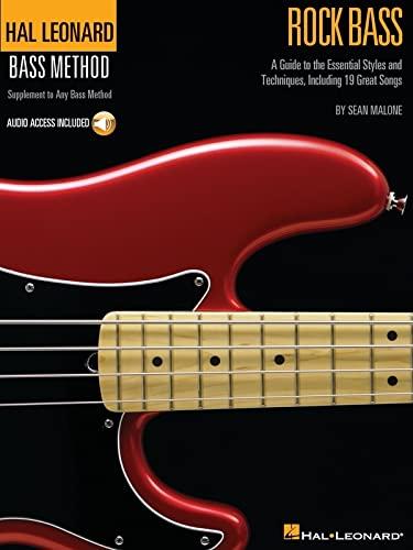 9780634068140: Rock Bass: Hal Leonard Bass Method Stylistic Supplement Bk/Online Audio