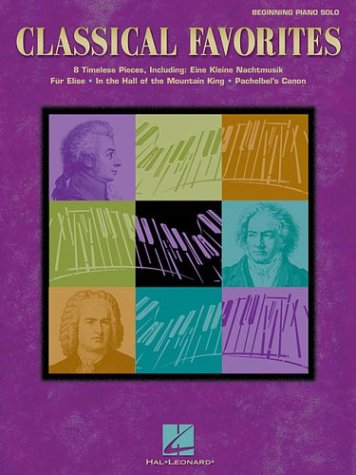 9780634068256: Classical Favorites Beginning Piano Solo