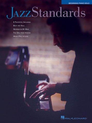 9780634068270: Jazz Standards Beginning Piano Solo