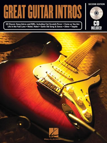 9780634068294: GREAT GUITAR INTROS 50 MEMORABLE RIFFS GUITAR 2ND EDITION BK/CD (Riff Notes)