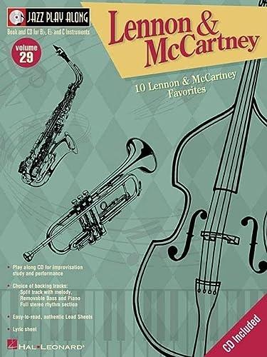 9780634068461: Lennon and McCartney: Jazz Play-Along Volume 29