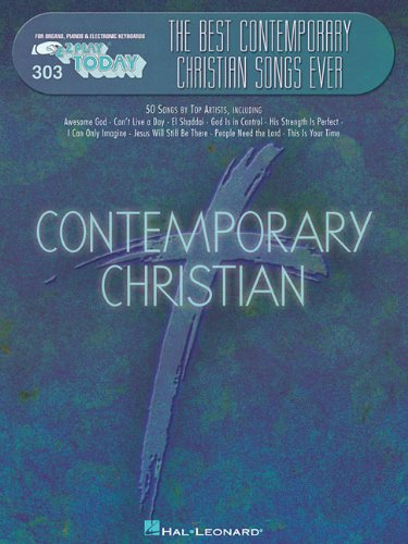 9780634068492: Best Contemporary Christian Songs Ever: E-Z Play Today Volume 303