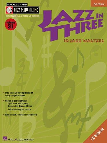 Jazz in Three: Jazz Play-Along Volume 31 (Jazz Play Along Series): Hal Leonard