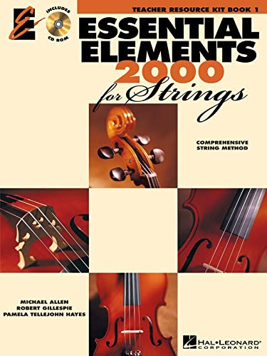 9780634068942: Essential Elements 2000 for Strings Book 1: Teacher Resource Kit: Lesson Plans and Student Activity Worksheets