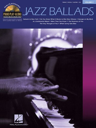 9780634069017: Jazz Ballads: Piano Play-Along Volume 2 (Hal Leonard Piano Play-Along)