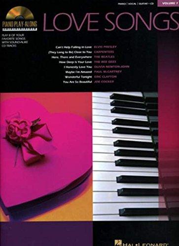 9780634069079: Love Songs: Piano Play-Along Volume 7 (Piano Playalong S)