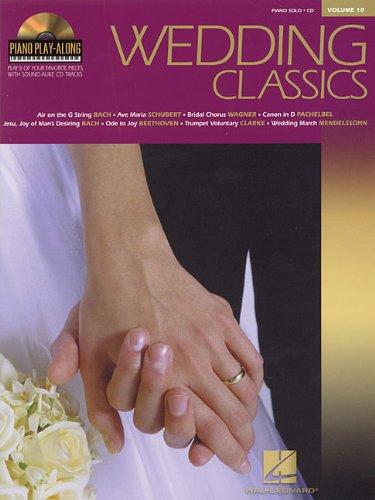 9780634069109: WEDDING CLASSICS BK/CD PIANO SOLO VOLUME 10 PIANO PLAY ALONG