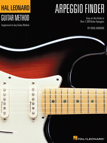 9780634069215: Arpeggio Finder: Easy-to-Use Guide to Over 1,300 Guitar Arpeggios Hal Leonard Guitar Method (Hal Leonard Guitar Method (Songbooks))