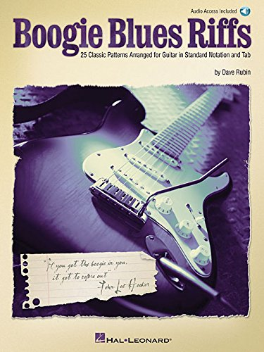 9780634069277: Boogie Blues Riffs: 25 Classic Patterns Arranged for Guitar in Standard Notation and Tab