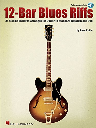 9780634069284: 12-Bar Blues Riffs: 25 Classic Patterns Arranged for Guitar in Standard Notation and Tab (Riff Notes) Bk/Online Audio