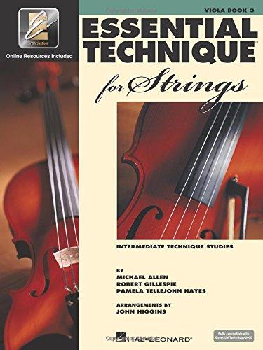 9780634069307: Essential Technique for Strings (Essential Elements Book 3): Viola