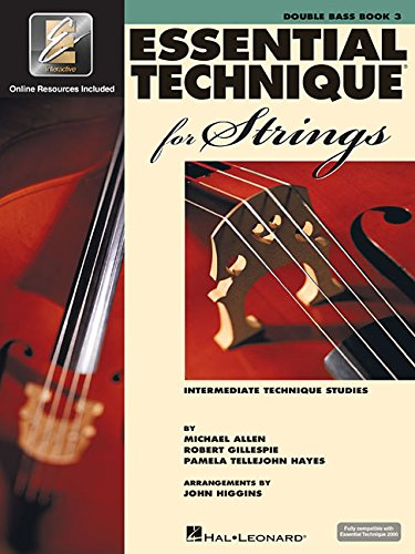 9780634069321: Essential Technique for Strings (Essential Elements Book 3): Double Bass