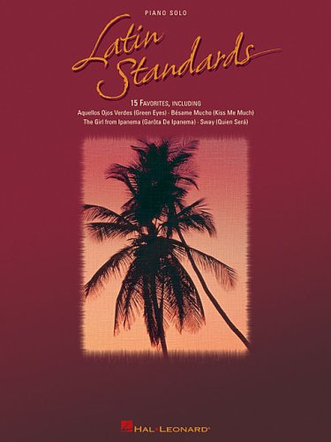 9780634069390: Latin Standards Piano Solos