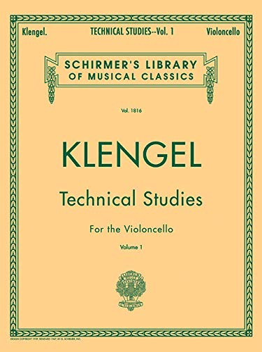 Julius Klengel: Technical Studies for Cello Volume: Julius (Aut Klengel