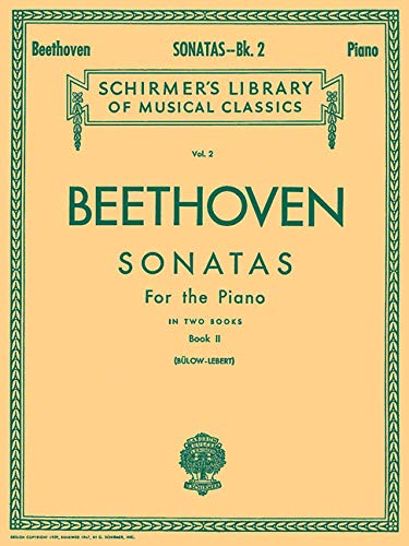 9780634069499: Beethoven Sonatas for the Piano: Book 2