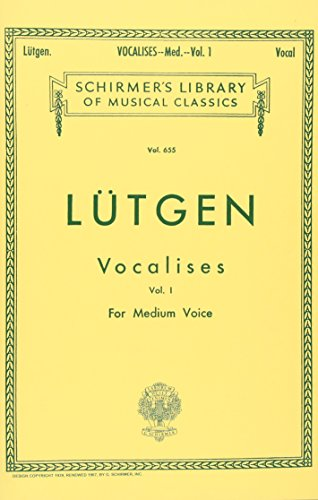 Vocalises (20 Daily Exercises) - Book I: Max Spicker (Editor),