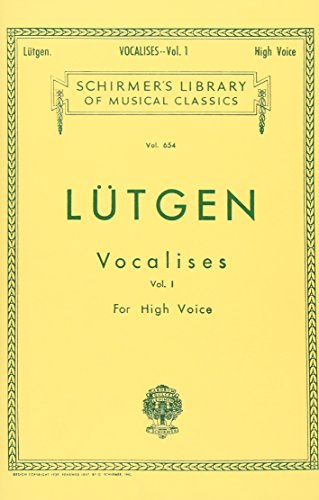 9780634069512: Vocalises (20 Daily Exercises) - Book I: High Voice: 1