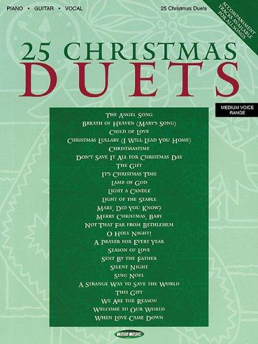 9780634069765: 25 Christmas Duets