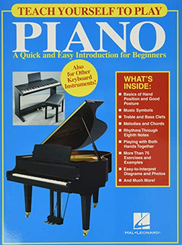 9780634069796: Teach Yourself to Play Piano