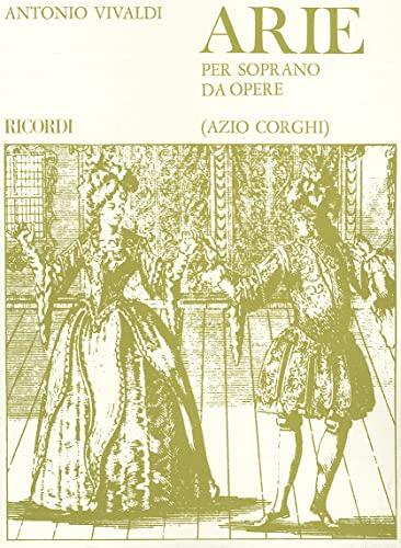 9780634069895: Arie Per Soprano Da Opere: Voice And Piano