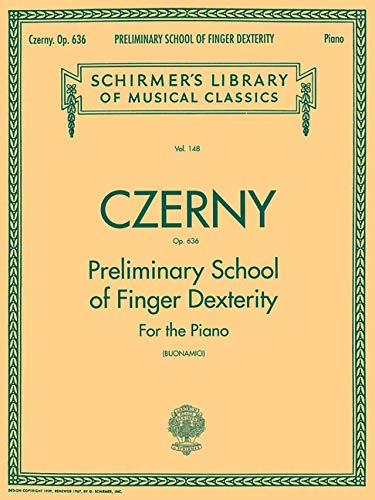 9780634069901: Preliminary School Of Finger Dexterity For The Piano Op636
