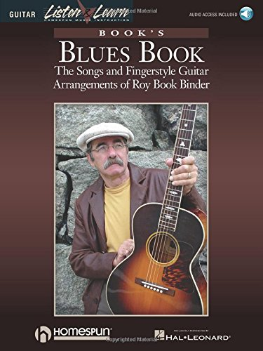 9780634070198: 1: Book's Blues Book: The Songs & Fingerstyle Guitar Arrangements of Roy Book Binder Bk/Online Audio