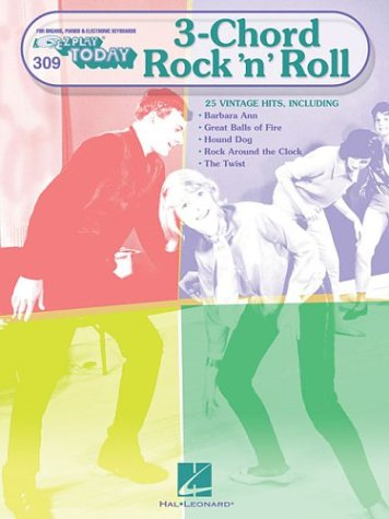 9780634070402: Three Chord Rock 'n' Roll: E-Z Play Today Volume 309