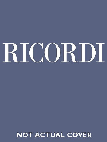 9780634070785: Il Campanello Critical Edition Full Score, Hardbound with critical commentary: Subscriber price within a subscription to the series: $120.00