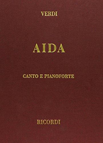 9780634071003: Aida Vocal Score Cloth Italian