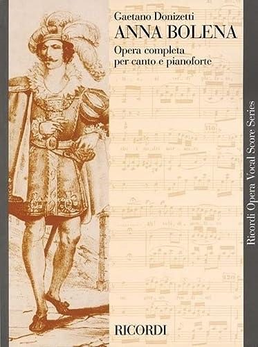 9780634071102: ANNA BOLENA VOCAL SCORE PAPER ITALIAN ONLY