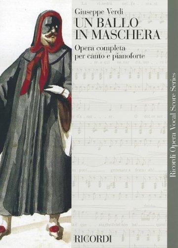 9780634071225: Un Ballo in Maschera (a Masked Ball): Vocal Score