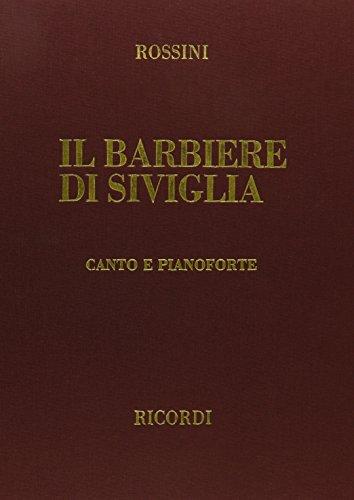 9780634071263: Il Barbiere di Siviglia: Vocal Score