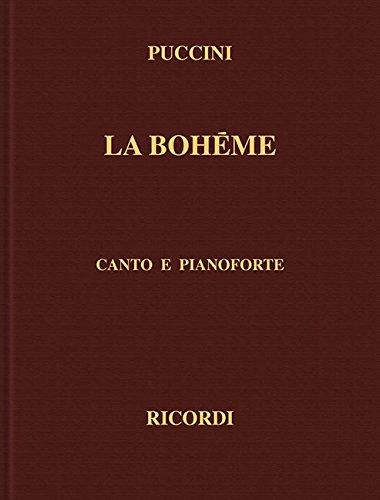 9780634071348: La Boheme: Canto E Pianoforte