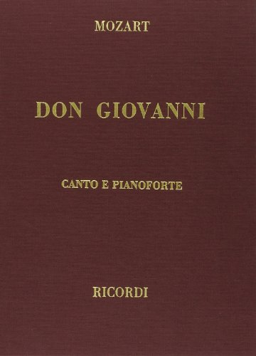 9780634071591: Don Giovanni, Clothbound, Italian Only: Vocal Score