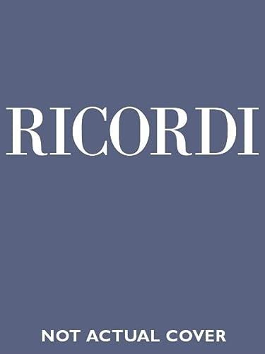 DON GIOVANNI VOCAL SCORE CLOTH ITALIAN: Wolfgang Amadeus Mozart