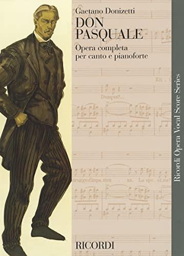 9780634071607: Don Pasquale Vocal Score Italian
