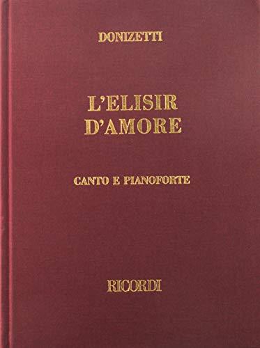 9780634071683: L Elisir D Amore Vocal Score Cloth Italian