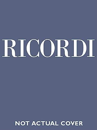 9780634071706: Falstaff: Commedia lirica in tre atti di Arrigo Boito