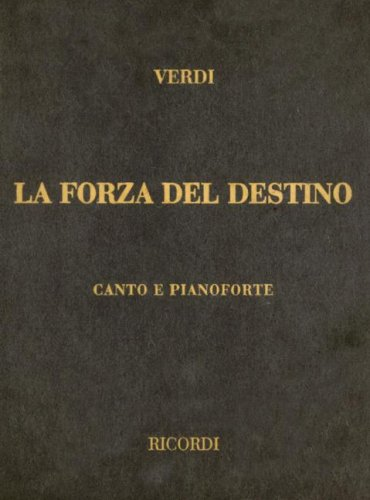 9780634071850: La Forza Del Destino Vocal Score