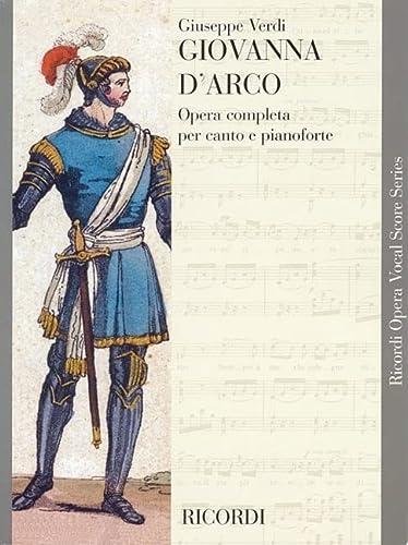 9780634071898: Giovanna d'Arco: Vocal Score