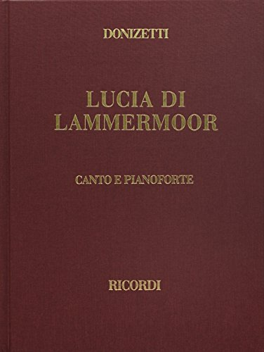 9780634072055: Lucia Di Lammermoor: Vocal Score