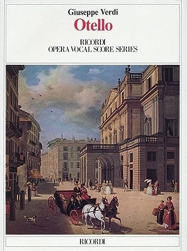 9780634072376: OTELLO VOCAL SCORE PAPER ITALIAN ENGLISH