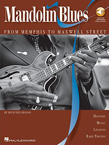 9780634072499: Mandolin Blues Bk/CD - From Memphis to Maxwell Street