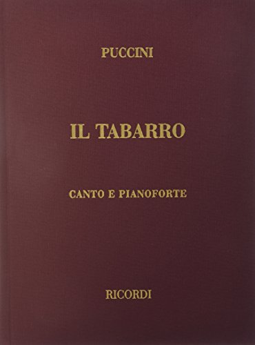 9780634072574: Il Tabarro: Vocal Score