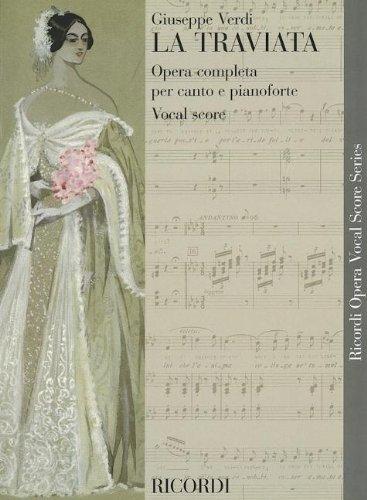9780634072628: La Traviata: Vocal Score (Ricordi Opera Vocal Score)